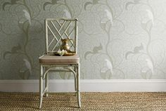 The Vintage wallpaper collection was created to celebrate Sanderson's Anniversary. Tiki House, Victorian Cottage, Cottage Interiors, Floor Decor, Egg Shells, Decoration, Architecture, Wall Decor, Flooring
