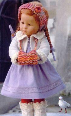 Puppen-Paradies Käthe Kruse Fifi mit Muff