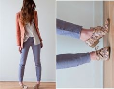 Oxfords any one.. ? Entire outfit is cute
