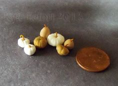 Miniature Gourds and White Pumpkins Lot by Kyle Lefort. Available on Etsy!