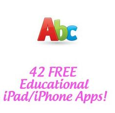 42 free apps for ipad or iphone!