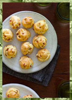 Ham Puff Balls -- look like a fairly easy appetizer