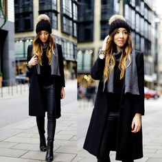 Fashion and Edgy Work Outfit Ideas for Winter