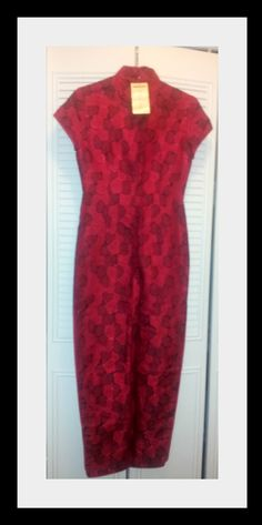 Authentic Red Kimono Dress Size small. NWT  $24.99
