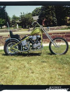 Street Chopper Early 70S Toms Titan Photo 5