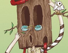 """Check out new work on my @Behance portfolio: """"WooD!"""" http://be.net/gallery/34009292/WooD"""