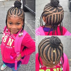 Natural Tribal Braided Hairstyles for Kids In 2020 Kids Braids I Love the Tribal Braids Kidsbraids Braids Toddler Braided Hairstyles, Lil Girl Hairstyles, Cute Hairstyles For Kids, French Braid Hairstyles, Girls Natural Hairstyles, Natural Hair Styles, Children Hairstyles, Kids Hairstyle, Unique Hairstyles