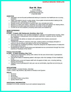 httpjobresumesamplecom716certified nursing assistant resume job resume samples pinterest nursing best - Cna Resumes Samples