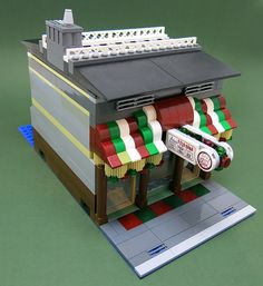 Custom LEGO Pizza-Rama