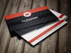Simple minimal business card.