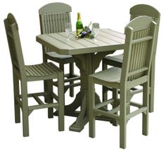 """Tables :: 41"""" Square Table Set #1 Free Shipping - Products 