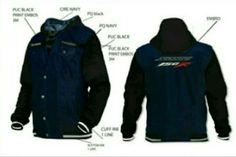Jaket exclusif bawaan CB150R Facelift dan Sonic 150R, keren juga