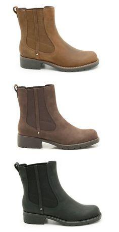 Damenstiefeletten im Chelsea Boots Look mit 3,5cm Absatz, Clarks Orinoco Club, 99,95 Euro: http://www.clarks.de/p/20340917 #HW14