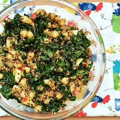 Well Fueled by Jackie Armstrong | CURRIED KALE & QUINOA SALAD