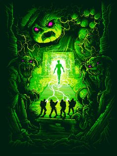 Ghostbusters - Dan Mumford