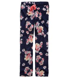 Royal Navy Aerie Cotton Pajama Pant - Cute and comfy! #Aerie