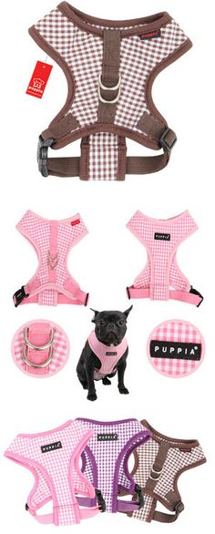 Baby Checkered Dog Harness A