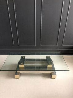 Paul Evans Cityscape Style Coffee Table