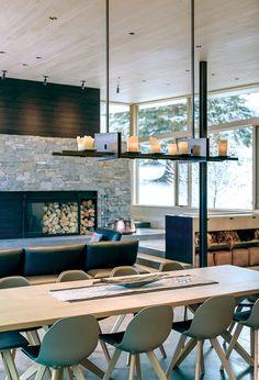 A Norwegian-Inspired Aspen Home - Mountain Living Building A Garage, Building A House, Building Homes, Built In Furniture, Home Furniture, Norwegian House, Norwegian Style, Mountain Living, Mountain Cabins