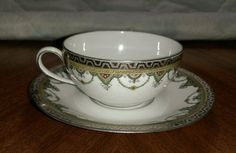A.Lanternier & co. Limoges France Cup & Saucer with gold trim | Pottery & Glass, Pottery & China, China & Dinnerware | eBay!