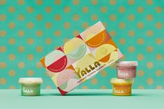 Yalla Premium Coconut Tapioca Desserts Branding Designed by Harcus Design - World Brand Design