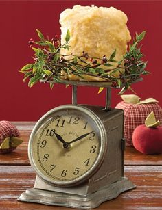 Vintage Inspired Postage Scale Clock $44.99