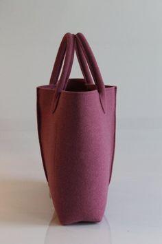 Casual ed elegante borsa in feltro Made in italy di Lefrac su Etsy