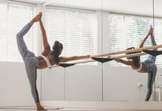 Ballet + yoga are good for the body + the mind   Skirt the Ceiling   http://skirttheceiling.com
