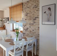 Good morning We have a beautiful sun in the morning but it would not be too good for even … Modern Kitchen Design, Interior Design Kitchen, Kitchen Decor, Home And Deco, Home And Living, Home Kitchens, Home Goods, Sweet Home, New Homes