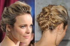 Rachel McAdam's Pretty Pinned Updo