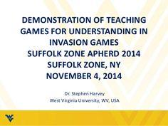 Teaching Games for Understanding - Invasion Games Lesson Demonstration. Stehpen Harvey.
