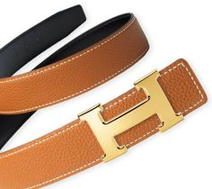 "Hermes ""H"" Buckle Belt....a must have!"