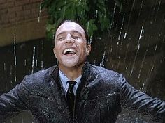 Gene Kelly, singing in the rain, one of my favs..and one of my tio hiram and my papi's fav...a reason my father and i share the love of dance, this man, and a memory my father has of his older brother... <3