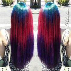 Galaxy multi colored hair extensions galaxy universe nebula galaxy multi colored hair extensions pmusecretfo Images