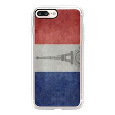 We will always have PARIS darling! - Vintage national flag of France... ($40) ❤ liked on Polyvore featuring accessories, tech accessories, iphone case, iphone cover case, slim iphone case, apple iphone case, iphone cases and vintage iphone case