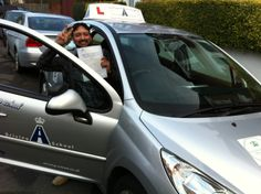 Elephant Driving School - Congratulate Muneeib Ahmad - From Streatham - Passing his test at Morden Driving Test Center.
