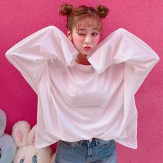 #chuu  컬러마다 욕심나는 #여름티셔츠 여리여리 청량한 소재로 시�해요 Cute Korean Girl, Asian Cute, Asian Girl, Korean Bangs Hairstyle, Ulzzang Hairstyle, Sweet Girl Photo, Cute Fashion, Girl Fashion, Uzzlang Girl