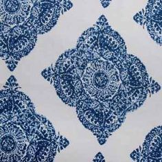 Slow Living fabric inspired by tiles Hertex Fabrics, Slow Living, Scatter Cushions, Indigo, Family Room, Textiles, Inspiration, Beach House, Choices