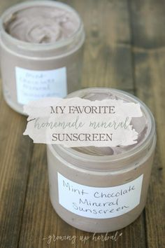 Summer is here! Well, not officially, but it's hot outside so you get what I'm saying. That means it's that time of the year when I whip up a batch or two of homemade mineral sunscreen so I thought I'd share my favorite recipe with you today.  I love this homemade mineral sunscreen for a …