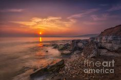 Hanover Point Sunset by Nigel Hamer.