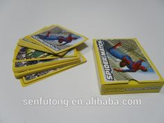 custom playing card game box set