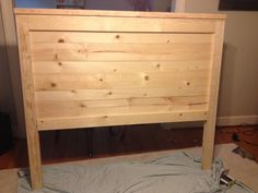 Do it yourself headboard.