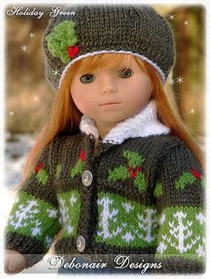 Ravelry: debonairdesigns' Holiday Green