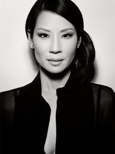 Lucy Liu - What I imagine the best friend looks like. :)