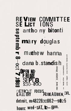 Poster (graphic designer, artist and educator),Edward Fella