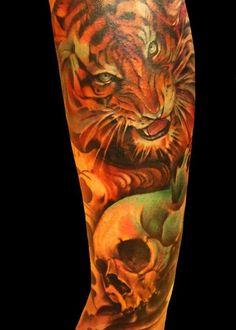 Semana Oriental: 60 Tatuagens de Tigre