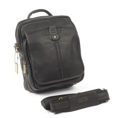 Cowhide Leather Man Bag for Tablets