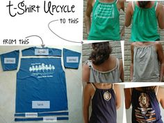 Amazing t-shirt refashion!