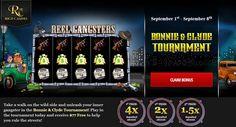 Get Exclusive $77 #Free #Bonus in Bonnie & Clyde #Tournament at Rich #Casino.