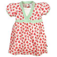 Schönes Baby-Sommerkleid mit Print und subtilen Details. Einfach herzig.  #CoolBabies #Schweiz #SwissBaby #Babykleidung #Meitli #Baby #Babykleider